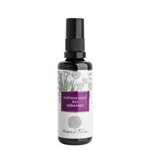 Květová voda Bio Heřmánek sklo Nobilis Tilia 50 ml