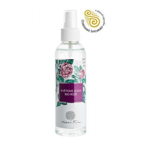 Květová voda Bio Růže plast Nobilis Tilia 200 ml