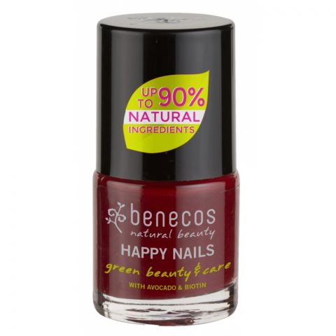 Lak na nehty Cherry red Benecos 5ml