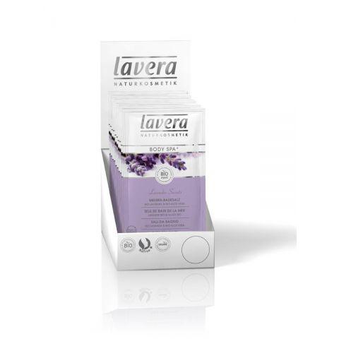 Koupelová sůl BIO Levandule - BIO Aloe vera Body SPA LAVERA  80 g