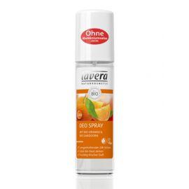 Deo sprej BIO Pomeranč-Rakytník Body SPA Lavera  75 ml