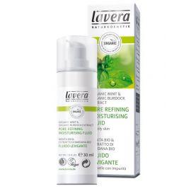 Hydratační zjemňující fluid Faces Bio Máta & Bio lopuch Lavera 30ml