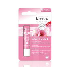 Balzám na rty Beauty&Care Růžová Lips Lavera 4,5g