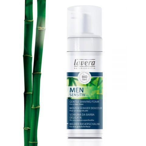 Jemná pěna na holení Men Sensitiv LAVERA  150ml