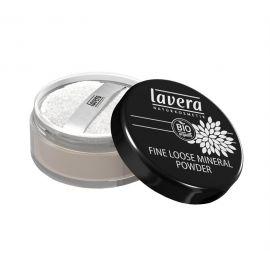 Pudr minerální jemný sypký  - transparentní Trend sensitiv Lavera  8 g