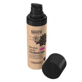 Tekutý make-up přírodní No. 3 Med -  písková Trend Sensitiv Lavera 30ml