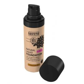 Tekutý make-up přírodní No. 4 Med - béžová Trend Sensitiv LAVERA  30ml