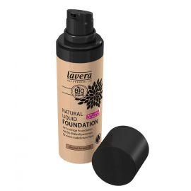 Tekutý make-up přírodní No. 5 Mandle - ambra Trend Sensitiv LAVERA  30ml