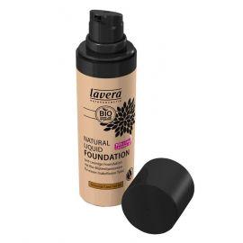 Tekutý make-up přírodní No. 6 Mandle - karamelová LAVERA  30ml