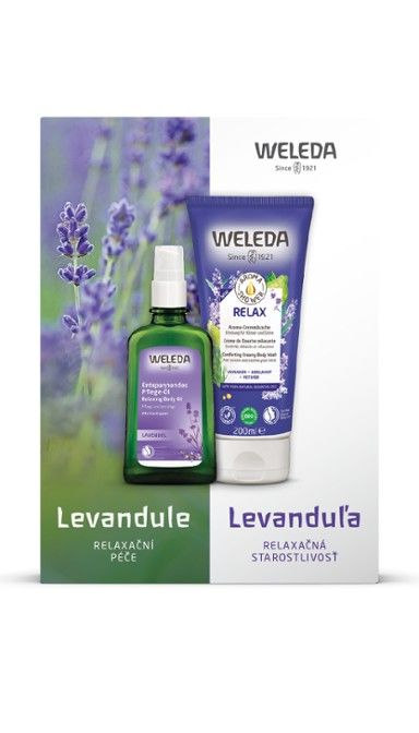 Weleda Levandulová relaxační péče
