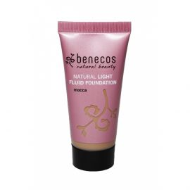 Light Fluid Foundation - mocca BIO, VEG Benecos 30ml