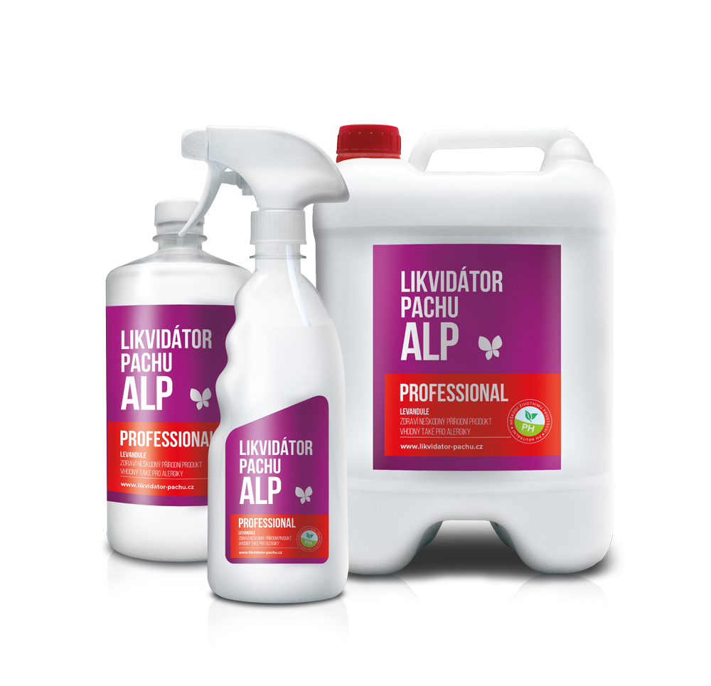 Likvidátor pachu ALP - Professional - Levandule Objem: 500 ml N