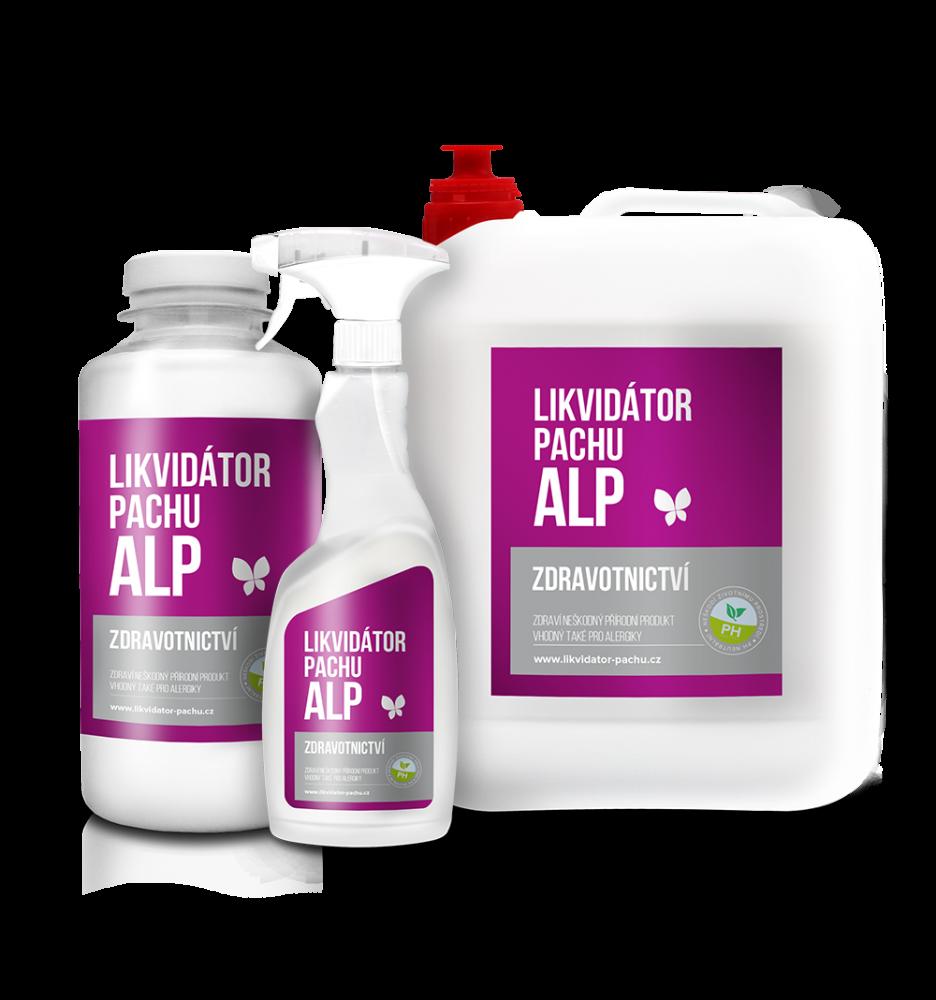 E-shop Likvidátor pachu ALP - Zdravotnictví - Levandule Objem: 5000 ml + Doprava Zdarma