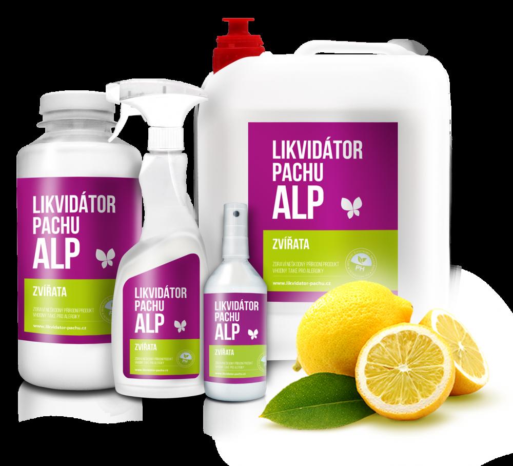 Likvidátor pachu ALP - Zvířata - Citron