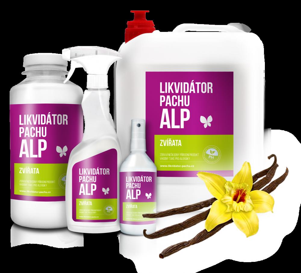 Likvidátor pachu ALP - Zvířata - Vanilka