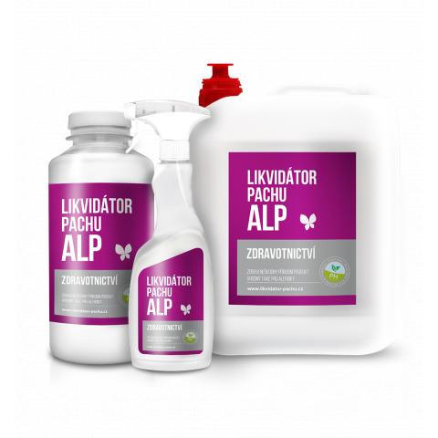 Likvidátor pachu ALP - Zdravotnictví - Jasmín