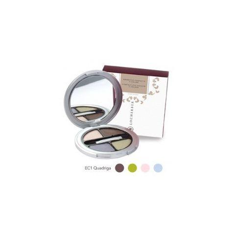 Čtyřbarevné kompaktní oční stíny Locherber EC1  4 g