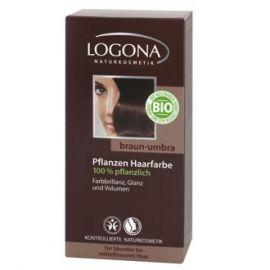 Barva na vlasy Henna Hnědá umbra Logona 100g