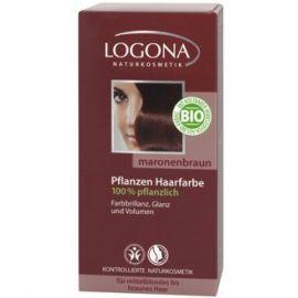 Barva na vlasy Henna Kaštan Logona 100g