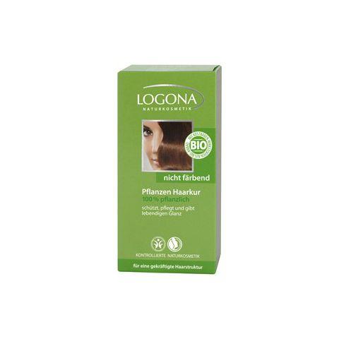 Rostlinná kúra na vlasy bezbarvá Henna Vitamínová Logona 100g