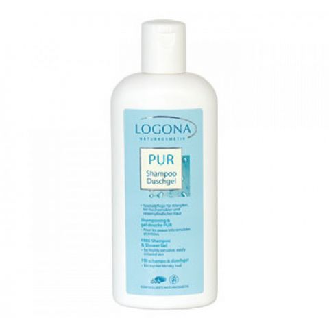 Šampon & sprchový gel PUR Logona 250ml