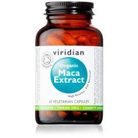 Maca Extract Organic 60 kapslí Viridian