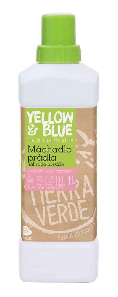 Yellow & Blue L'VANDU LOVE -Máchadlo prádla místo aviváže 1L
