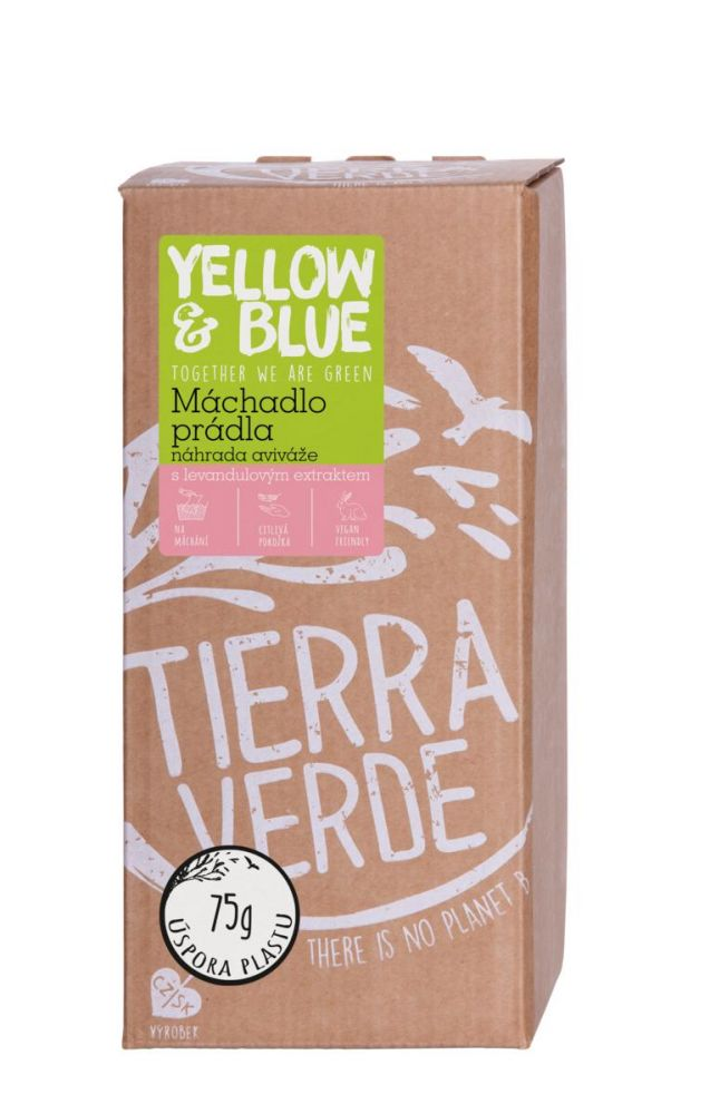 Yellow & Blue Máchadlo prádla s levandulovým extraktem místo aviváže 2 l
