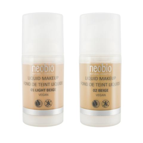 Make-up No.02 Beige/Béžová Neobio  30ml