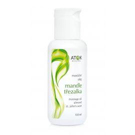 Masážní olej Mandle-třezalka Atok