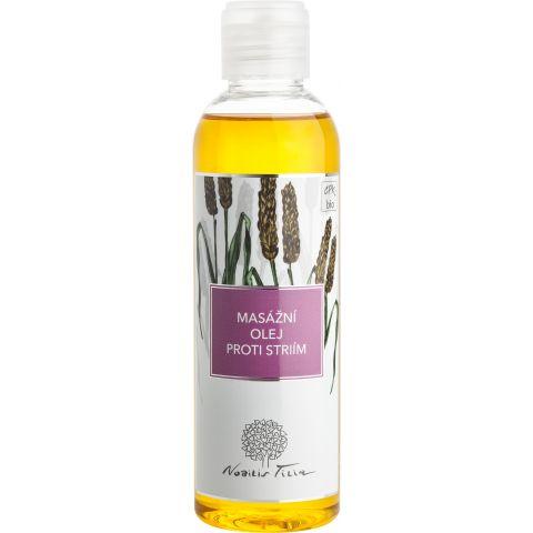 Masážní olej proti striím Nobilis Tilia 200 ml