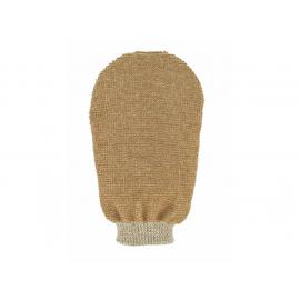 Masážní rukavice - bio len - 2 strany s 2 hrubostmi Förster´s