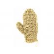 Masážní rukavice sisal - ručné pletená palcová Förster´s