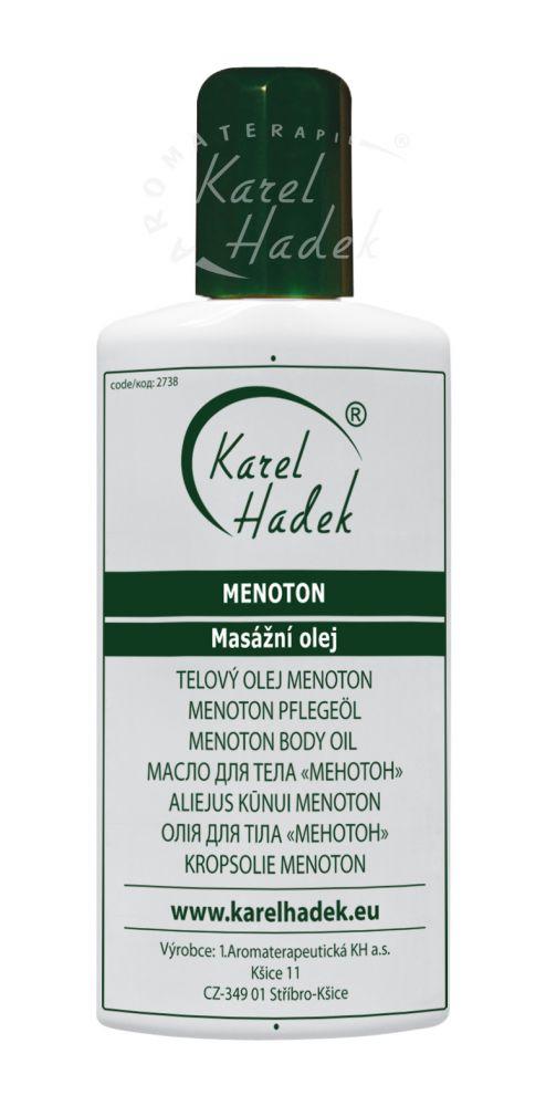 Menoton Masážní olej Hadek velikost: 100 ml