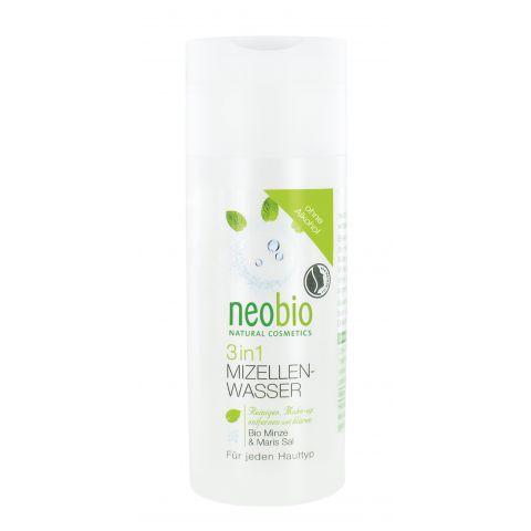 Micelární voda 3v1 Bio Máta & Mořská sůl Neobio 150 ml
