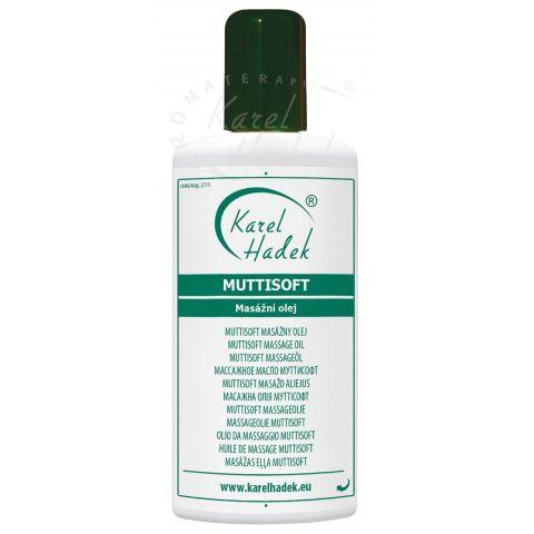 Muttisoft masážní olej Hadek  200ml
