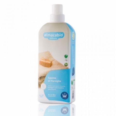 Mýdlo marseilské tekuté na praní Almacabio 1l