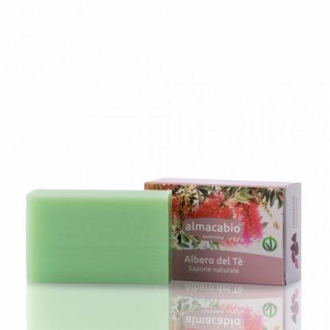 Mýdlo rostlinné Čajovník Almacabio 100 g