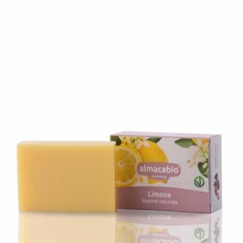 Mýdlo rostlinné Citron Almacabio 100 g