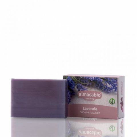 Mýdlo rostlinné Levandule Almacabio 100 g