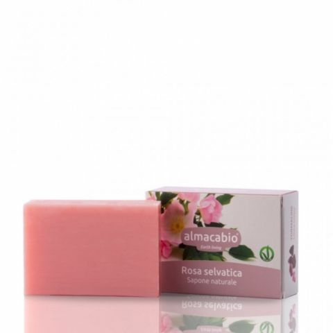 Mýdlo rostlinné Šípková růže Almacabio  100 g
