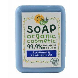 Mýdlo s rozmarýnovým esenciálním olejem Cigale BIO 100g.