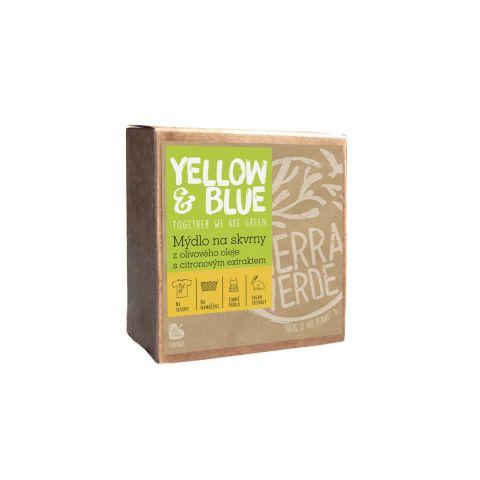 Mýdlo z olivového oleje s citronovým extraktem na skvrny Yellow & Blue  200g