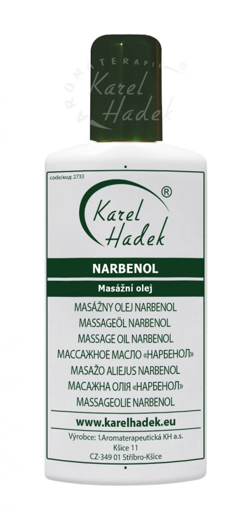 Narbenol Masážní olej Hadek velikost: 20 ml