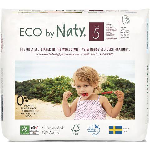 Natahovací plenkové kalhotky Junior Naty 12-18 kg 20 ks
