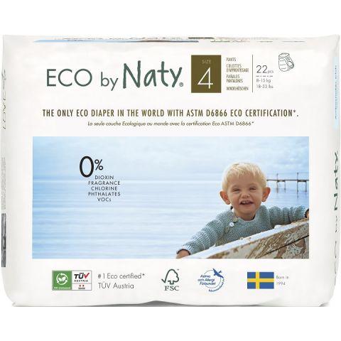Natahovací plenkové kalhotky Maxi Naty 8-15 kg 22 ks