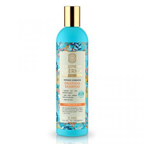 Rakytníkový Šampon normální a suché vlasy Natura Siberica 400ml