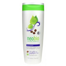 Šampon na zvětšení objemu vlasů Bio-Kofein & Bříza Neobio 250ml