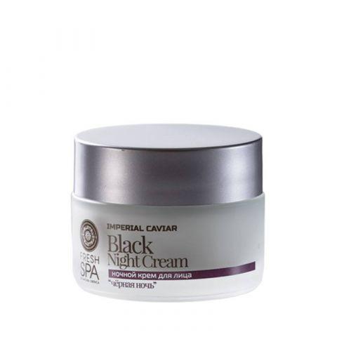 Noční krém na obličej «Černá noc» Imperial Caviar Natura Siberica 50ml