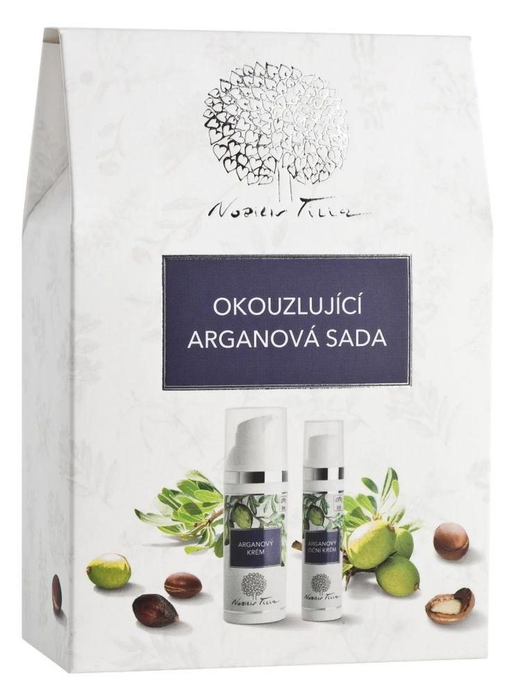 Nobilis Tilia Sada okouzlující arganový krém 50 ml + arganový oční krém 15 ml dárková sada